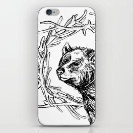 Bear Queen iPhone Skin