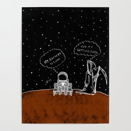 Opportunity Is Dark Poster
