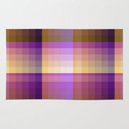 Complimentary Color Harmony ..Yellow /purple Rug