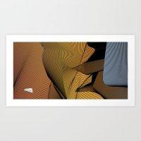 Wormhole Interior Art Print