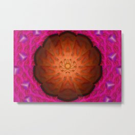 Mysteriously shield ... Metal Print