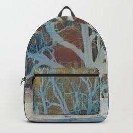 """"""" Walnut Tree In Winter """" Backpack"""