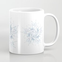 blue espiral Coffee Mug