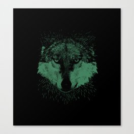 Wolf Head Animal Canvas Print