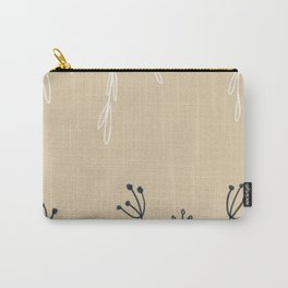 Wreathe & Flowers Carry-All Pouch