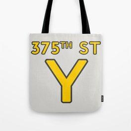 375th Street Y Tote Bag