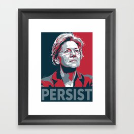 #Persist Framed Art Print