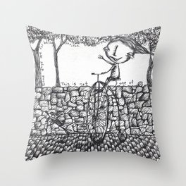 Serious Days Throw Pillow