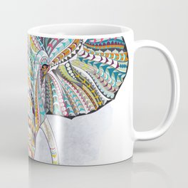 Colorful Ethnic Elephant Coffee Mug