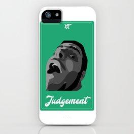 Judgement Vine Tarot iPhone Case