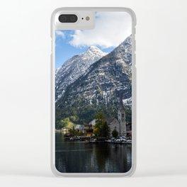 Hallstatt Clear iPhone Case