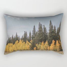 Aspen vs. Pine Rectangular Pillow