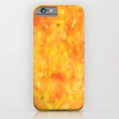 WatercolourTexture Yellow Slim Case iPhone 6s