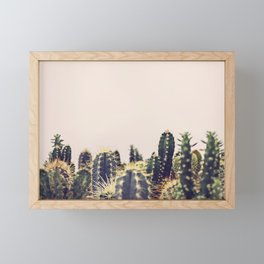Cactus Party Framed Mini Art Print