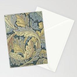 William Morris Acanthus Leaves Floral Art Nouveau Stationery Cards