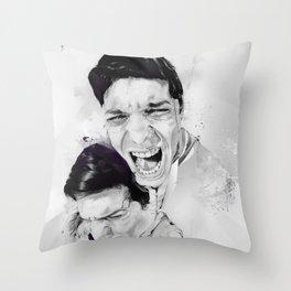 100 Days of Chaos Throw Pillow