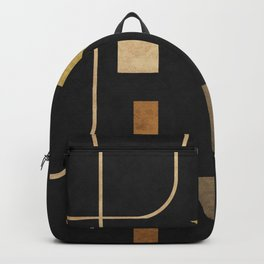 Subtle Opulence - Minimal Geometric Abstract 1 Backpack