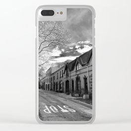 STOP For Brooklyn Heights Brownstone Love NYC Clear iPhone Case