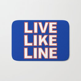 LIVE LIKE LINE Volleyball Bath Mat