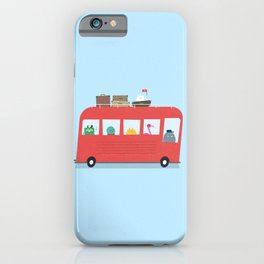 Funny Bus iPhone Case