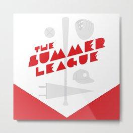The Summer League Metal Print