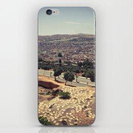 Fez - the ancient city. Original photograph. iPhone Skin
