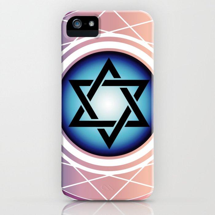 Jewish Star of David iPhone Case