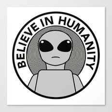 Believe in Humanity Canvas Print