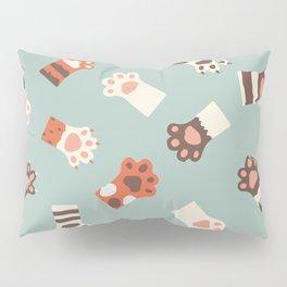 Cat paw cute Pillow Sham