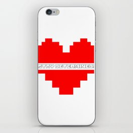 stay determined iPhone Skin