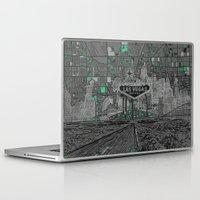 las vegas Laptop & iPad Skins featuring las vegas by Bekim ART