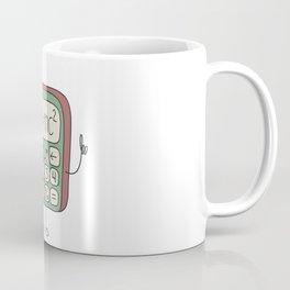 cartoon funny calculator smiles Coffee Mug