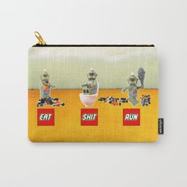 EAT SHIT RUN CYCLOPS LEGO Carry-All Pouch