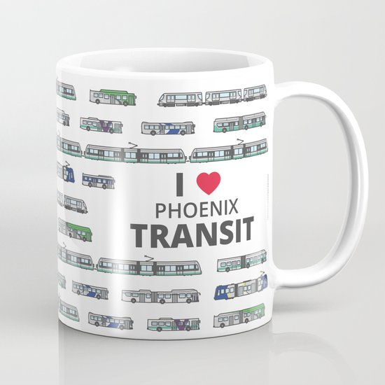 The Transit of Greater Phoenix Coffee Mug