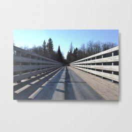 Firesteel Bridge Metal Print