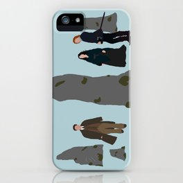 What if Your Future is in the Past? iPhone Case