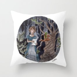 A Letter From Stranger Throw Pillow
