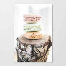 Macarons from Paris Canvas Print