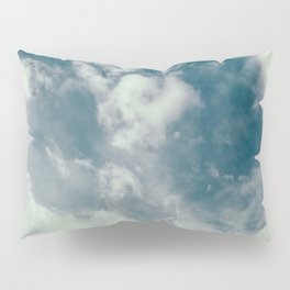 Soft Dreamy Cloudy Sky Pillow Sham