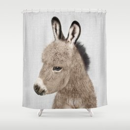 Donkey - Colorful Shower Curtain