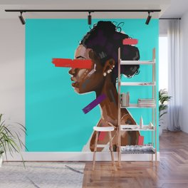EBONY BLISS Wall Mural