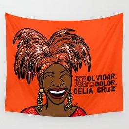 La Reina Celia Cruz Wall Tapestry