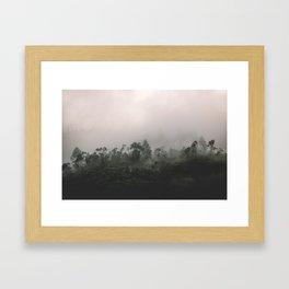 Sri Lankan Fog Framed Art Print