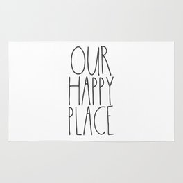Our Happy Place Rug