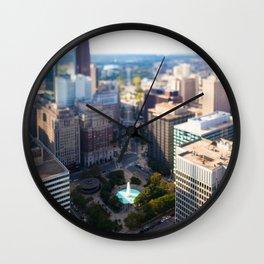 Philadelphia City Wall Clock