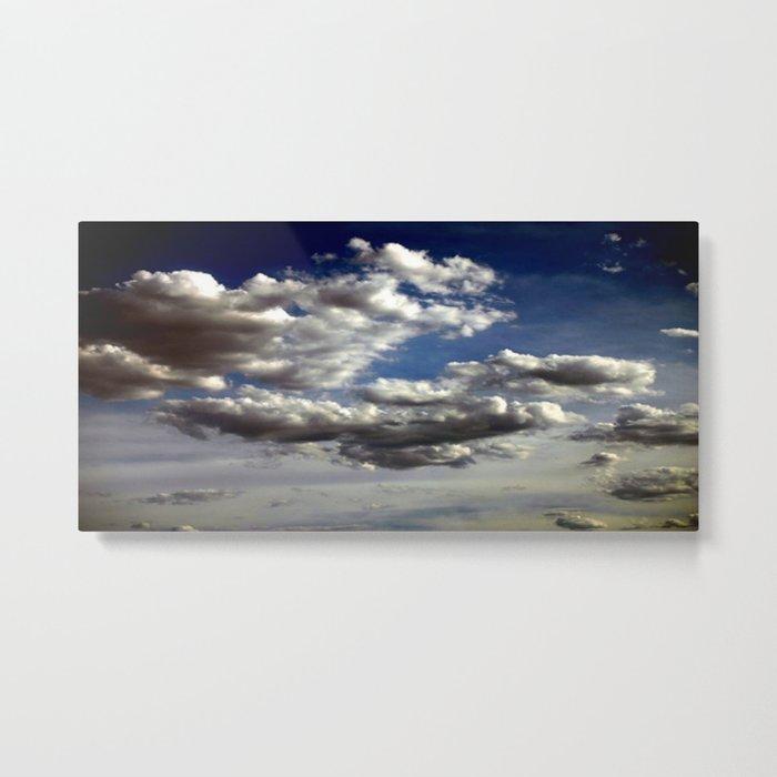 Cloud Formations Metal Print