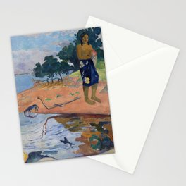 Haere Pape by Paul Gauguin Stationery Cards