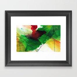 Greenone Framed Art Print