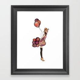 Le Ballon // Birthday III Framed Art Print