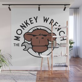The Monkey Wrench Wall Mural
